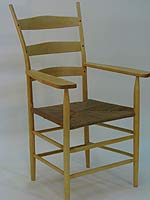 Ladder Back Armchair